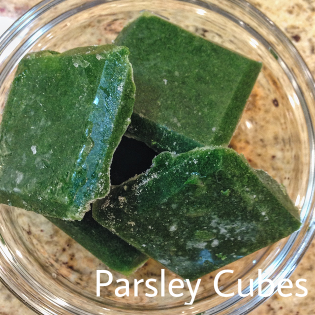 Parsley cubes IMG_2009